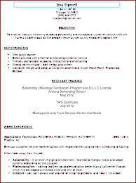 Sample Resume Objectives Call Center Representative by Resume Objective Bartender Free Resume Example And Writing Download
