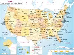 Utah Cities Map by Maps Of The United States Usa State Capitals And Major Cities Map