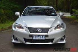 sporty lexus 4 door 2013 lexus is 250 c f sport review video performancedrive