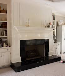 faux marble fireplace savvy apron