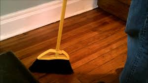 Best Broom For Laminate Floors 3 7 2012 Broom Stands On Its Own U003d Debunked As Normal Transfer