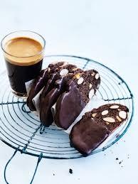 chocolate orange almond biscotti coffee coffee pinterest