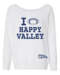 happy valley football sweatshirt white