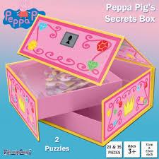 pig jigsaw puzzles secret gift box
