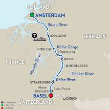 cruise itinerary romantic zurich to amsterdam river cruise romantic rhine southbound