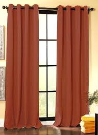 Burnt Orange Sheer Curtains Excellent Rust Sheer Curtains Colored Designs 8 Ways To Fall Into