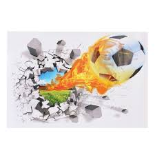soccer wall sticker removable get deal depot