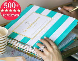 of honor planner keepsake wedding planner book monogrammed planner wedding