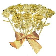 gold dipped roses dozen stem gold dipped roses gold roses