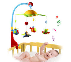 baby crib lights toys baby crib toy 0 12 months for newborn mobile musical box bed bell