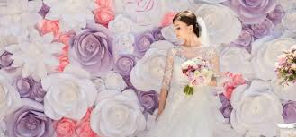 wedding backdrop diy 5 inexpensive diy backdrop ideas wedded