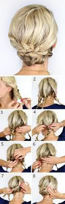 Schnelle Hochsteckfrisurenen Kurze Haare by 1001 Ideen Wie Sie Effektvolle Hochsteckfrisuren Selber Machen