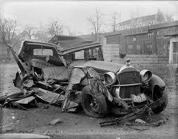 vintage photos of car crashes u2013 flavorwire