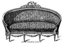 ottomane canapé définition d une ottomane un canapé en corbeille