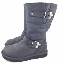 womens ugg boots with buckle black kensington ugg boots ebay