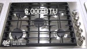 Jennaire Cooktop Jenn Air 5 Burner Gas Cooktop Jgc7530bs Overview Youtube