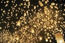 free photo sky lantern bright celebration light max pixel