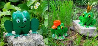 Backyard Decorations Plastic Bottles Crafts Ideas To Reuse As Garden Decorations