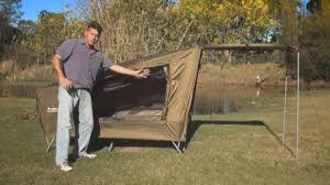 Oztrail Awning Review Oztrail Easy Fold Stretcher Tent Youtube