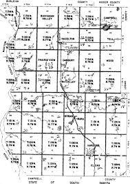 Nd Map Townships Ndgenweb Emmons County North Dakota