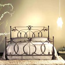 bed frames black cast iron king size frame antique beds noticeable