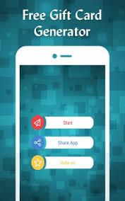 gift card generator apk free gift card generator apk version app for