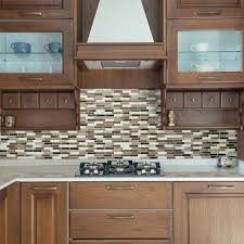 Kitchen Peel And Stick Backsplash Peel And Stick Kitchen Backsplash Smart Tiles