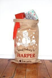125 best santa sacks images on personalised santa