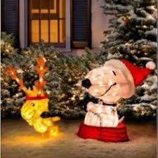 airblown decoration snoopy house led light