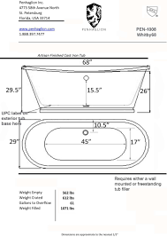 bathtubs amazing standard bathroom sink length 43 dimensions of
