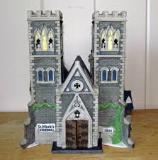 dept 56 in the city building cathedral church of