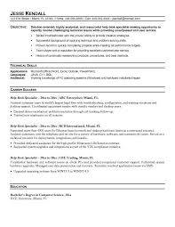 System Support Analyst Resume Good Topics For Computer Research Paper Medical Secretary Cover