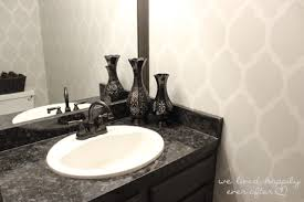 Paint Laminate Vanity Renewing Laminate Vanity Countertops With A Fresh Coat Of Paint