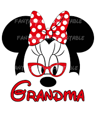 minnie mouse glasses classic bow by fantasylandprintable
