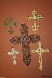 life cast iron cross collection christian cross wall decor set