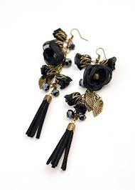 earrings for flower dangle and drop earrings for women and by