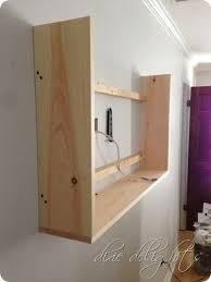In Wall Security Cabinet 102 Best Diy Hidden Built In Storage Images On Pinterest Hidden