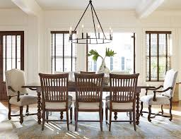 Paula Deen Dining Chairs 9 Dining Set With Slat Back Chairs By Paula Deen By