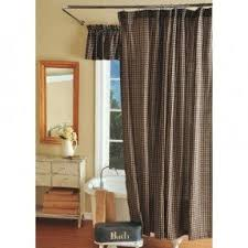 country plaid shower curtains foter