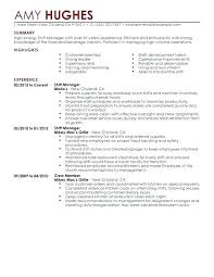 resume exles for fast food fast food resume exles fast food resume sle and get inspired