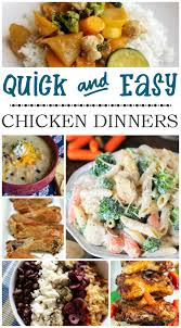 Dinner For The Week Ideas Quick And Easy Chicken Dinner Ideas C U0027mon Get Crafty
