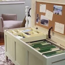 Diy File Cabinet Diy Filing Solutions Paper Storage Control The Chaos Bob Vila