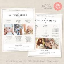 make up prices for wedding photographers price list template floral photography pricing