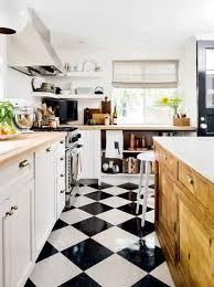 black and white kitchen floor ideas price estimates black white checkerboard tiles for every budget