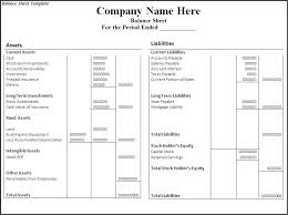 Balance Sheet Template Excel Free Simple And Editable Balance Sheet Template Free Helloalive