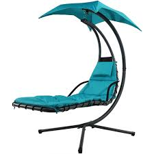 Lounge Swing Chair Sunnydaze Floating Chaise Lounge Chair