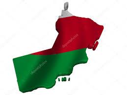 Map Of Oman Flag And Map Of Oman U2014 Stock Photo Sav Up 5247235