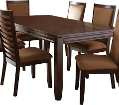 steve silver cornell rectangular dining table in rich espresso