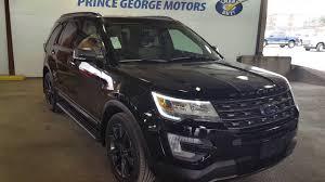 Ford Explorer All Black - black 2017 ford explorer xlt 4wd review prince george bc prince