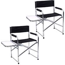 Folding Directors Chair With Side Table Rocky C Chairs With Side Table